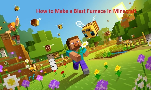 How to Make a Blast Furnace in Minecraft