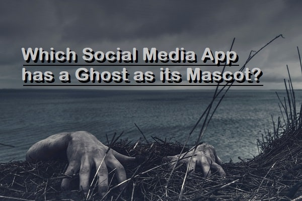 Which Social Media App has a Ghost as its Mascot